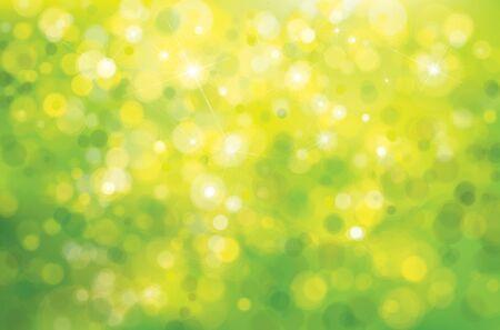 sunshine background: Vector green sunshine background.