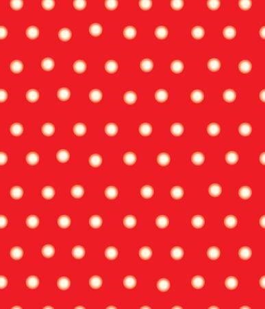 lunares rojos: Vector rojo lunares sin patr�n, efecto borroso, suave.