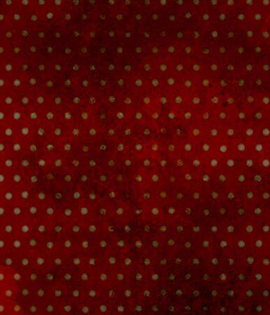 lunares rojos: Modelo de lunares rojo, fondo del grunge. Foto de archivo