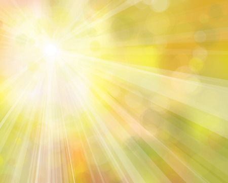 sunshine background: Vector yellow sunshine  background.
