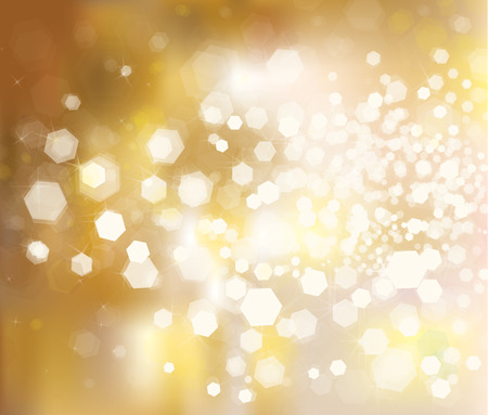 Vector glitter golden background. Ilustrace