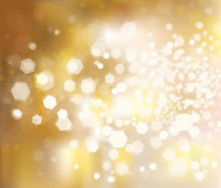 Vector glitter golden background. Stock Illustratie