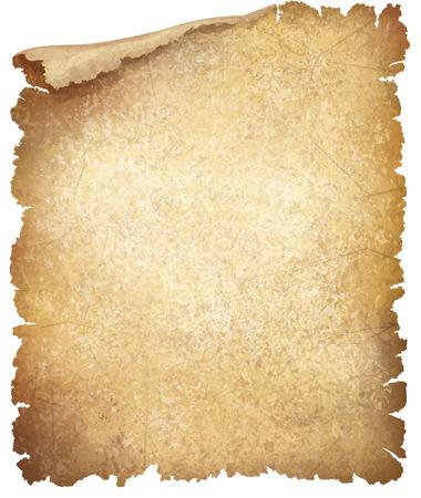 Vector oud papier textuur.