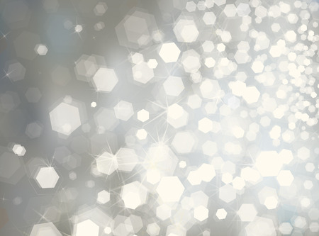 Vector glitter silver background.  イラスト・ベクター素材