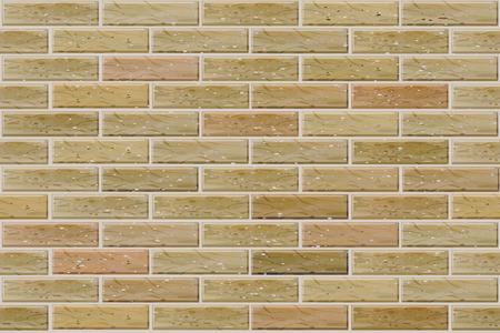 ベクトルのシームレスなレンガの壁。  イラスト・ベクター素材