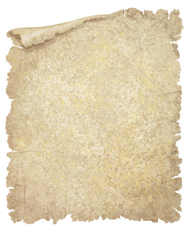 antique paper: Vector old paper grunge texture. Illustration