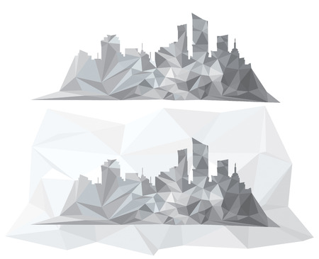 city background: Abstract city scape background.