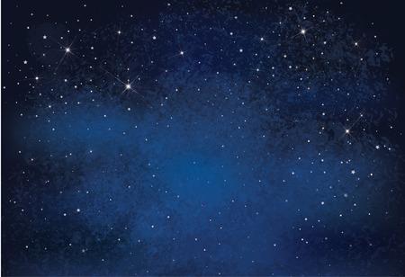 Night starry sky background