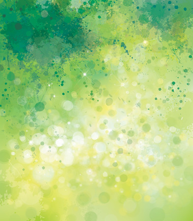 Vector abstract spring  background.
