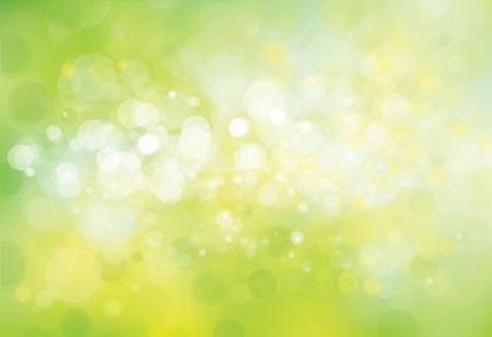 Vector green lights background. Illustration