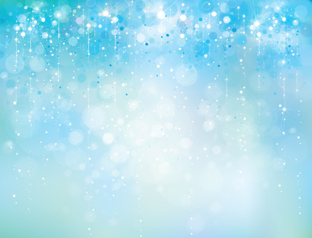 abstract blue sparkle, glitter background.