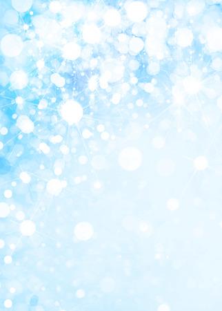 snowfall: Blue snowfall background.