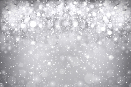 Abstract gray sparkle, glitter background.