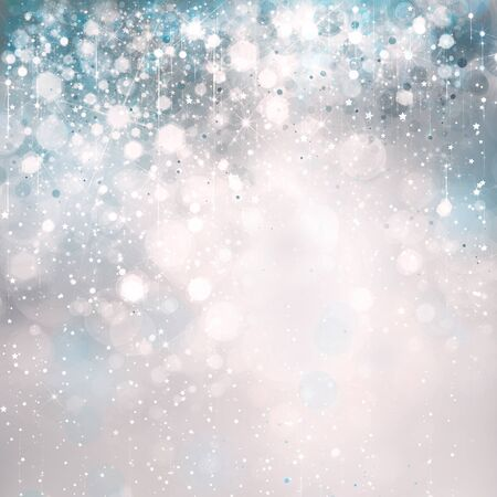 Abstract blue sparkle background.