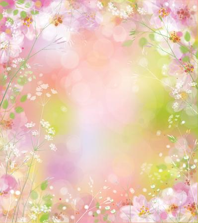 Vector ressort de fond floral. Banque d'images - 70794855