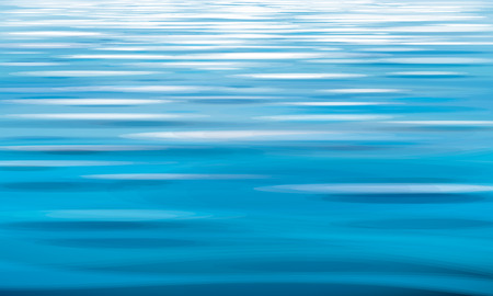 Vector blue water,  texture background.