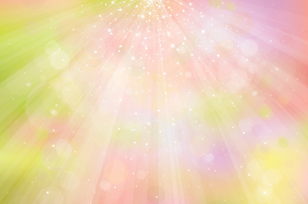 Vector colorful, sparkling background with rays, lights and stars. Archivio Fotografico - 122614069