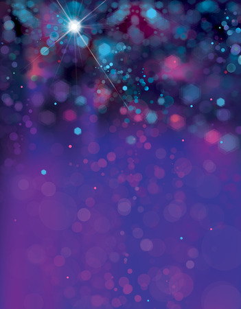 Vector  abstract, blue sparkle background. Christmas background. Archivio Fotografico - 125607757