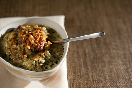 Ash e Reshteh, or noodle soup, is the heartiest of Persian soups. It's a staple at holiday get togethers.