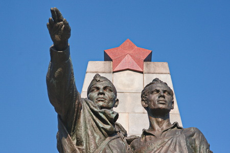 Red army monument 免版税图像