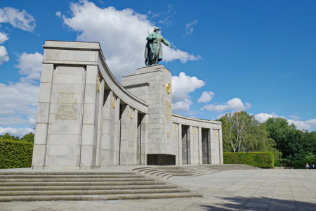 Soviet Army monument in Berlin