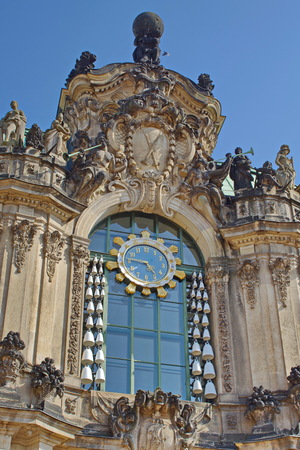 Zwinger palace in Dresden, carillon