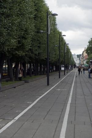 Bicycle lines in Europe 写真素材