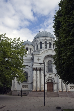 Roman Catholic Church in Lithuania Stock Photo