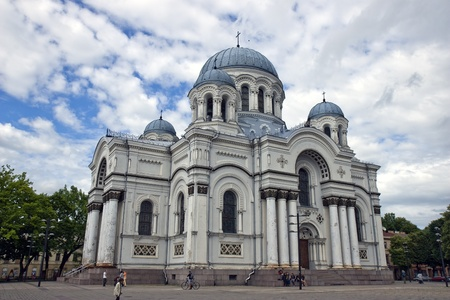 Church in Lithuania photo