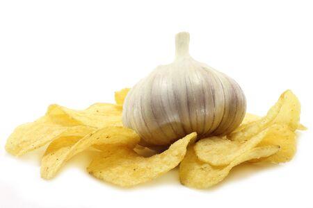 Garlic and chips photo