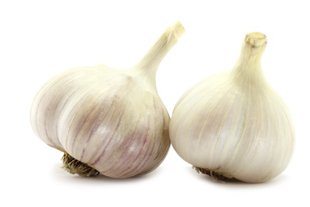 garlics: Two big garlics