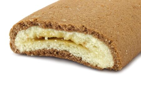 sweetmeats: Sweet cookies close-up on a white background Stock Photo