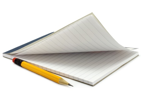 Notpad and pencil Stock Photo - 10506550