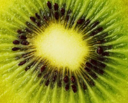 organics: Kiwi fruit background