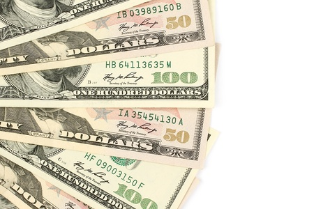 us paper currency: Money background