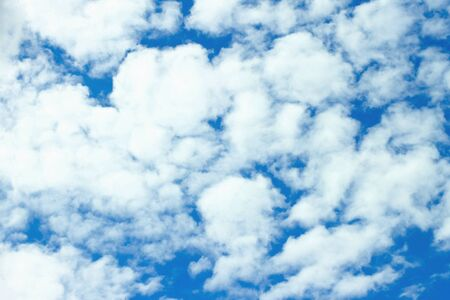Blue sky with clouds for background Stock Photo - 13515930