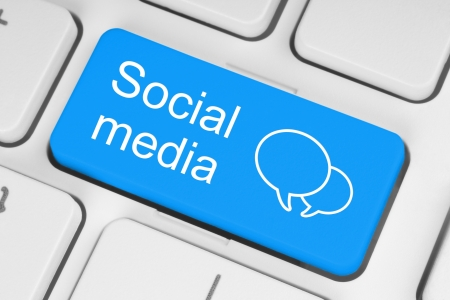 commentary: Social media keyboard button
