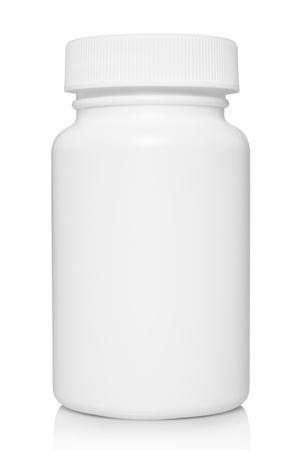 白の背景に白の医療用コンテナー 写真素材 - 20295875