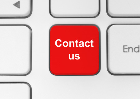 Contact us keyboard button photo
