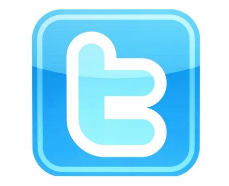 social networking service: KIEV, Ucrania - 26 de mayo 2015: Twitter logotipo impreso en papel. Twitter es un servicio de redes sociales en l�nea que permite a los usuarios enviar y leer mensajes cortos