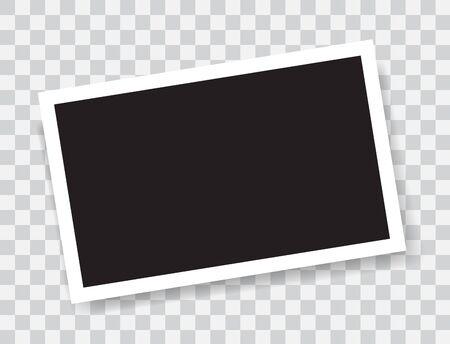 Realistic photo frame Ilustração