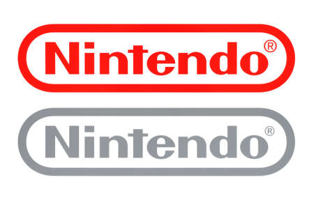 Kiev, Ukraine - February 23, 2020: New and Old Nintendo logos, printed on white paper. Nintendo is a Japanese multinational consumer electronics and video game company