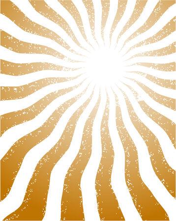 orange rays Stock Vector - 5104307