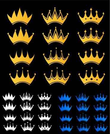 aristocracy: set of crown