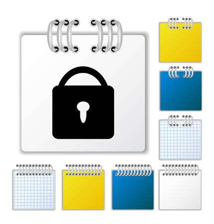 Notebook page Stock Vector - 5327052