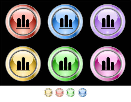 Web buttons Stock Vector - 5538936