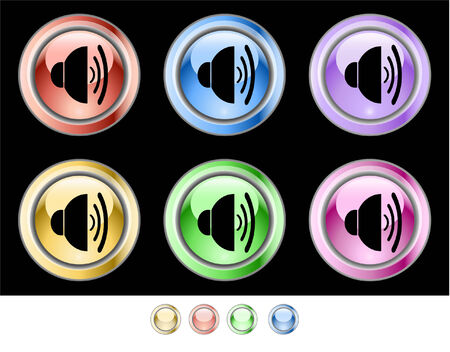Web buttons Stock Vector - 5538947