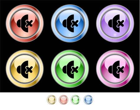 Web buttons Stock Vector - 5538949