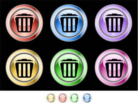 Web buttons Stock Vector - 5538950