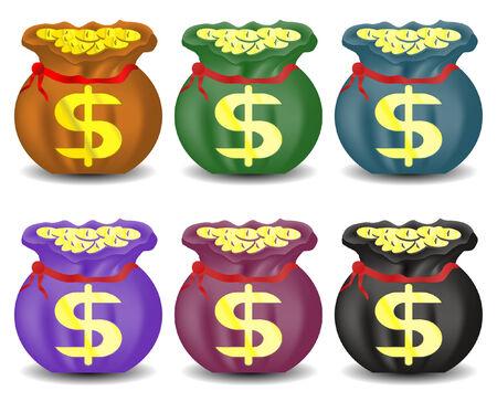 rubble: Bolsa con monedas